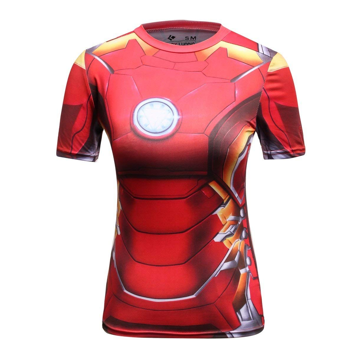 Iron Man Women's Compression Tee Shirt