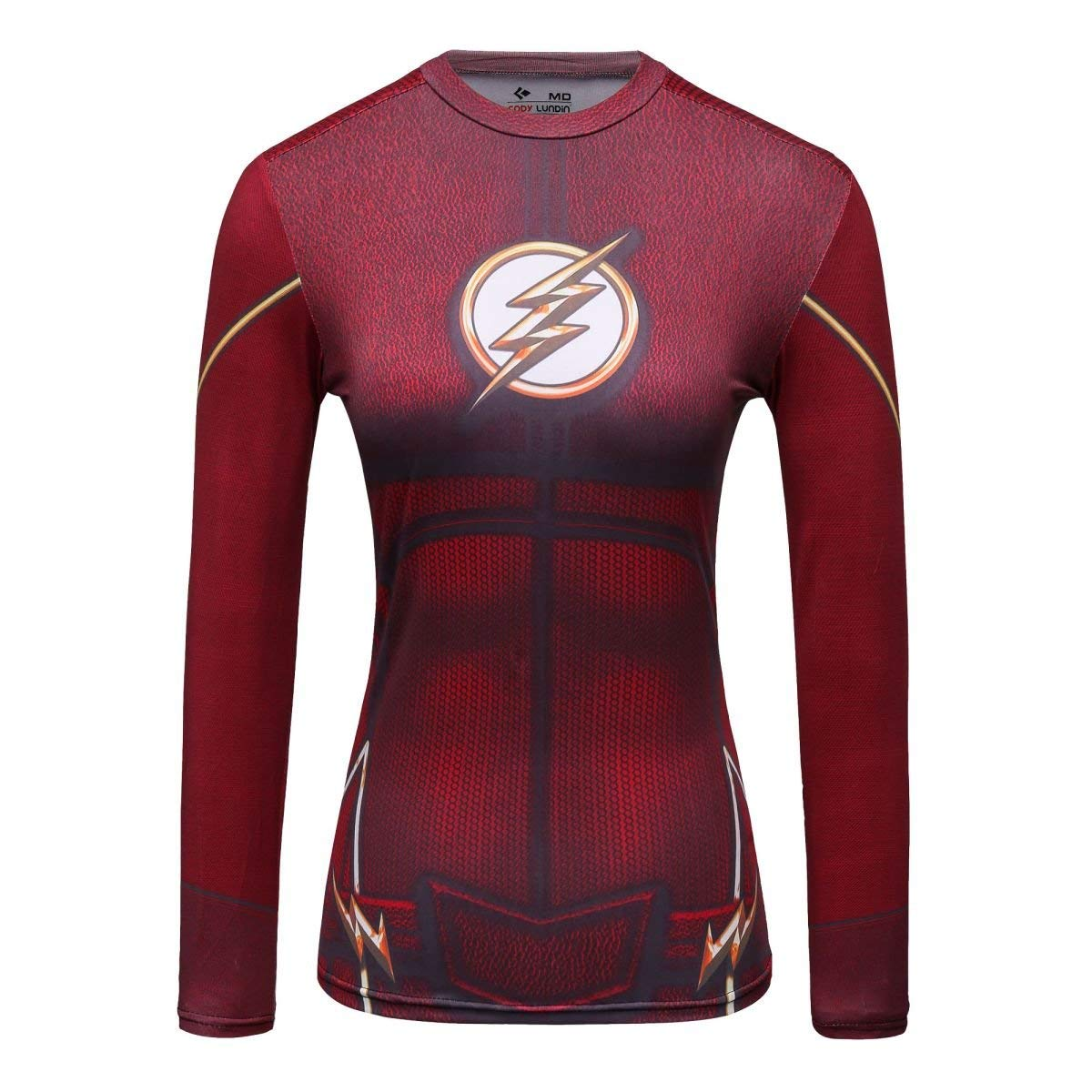 The Flash Superhero Compression Tee Shirt