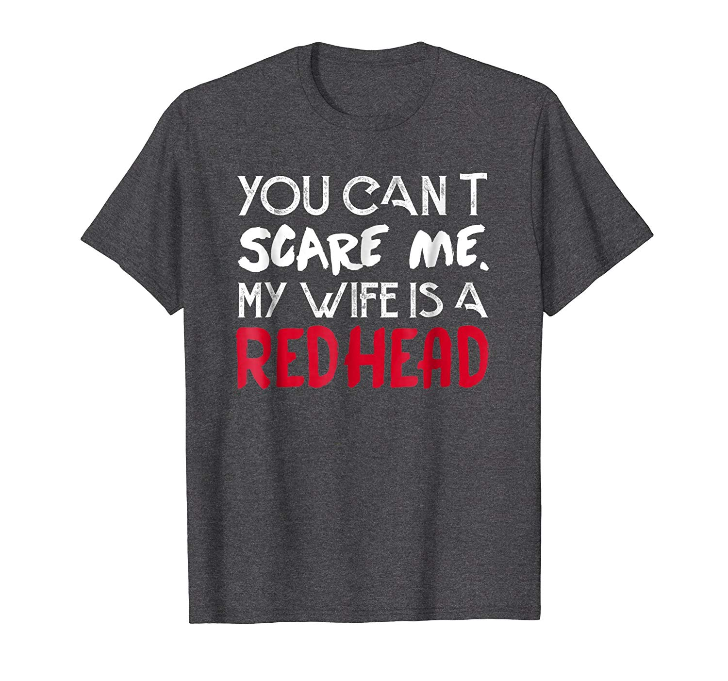 Husband of a redhead halloween shirt