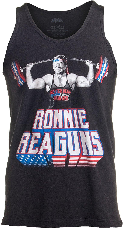 Ronnie Reaguns Reagan gym tank