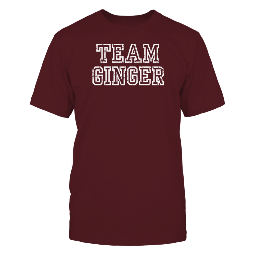 Team Ginger shirt for redheads