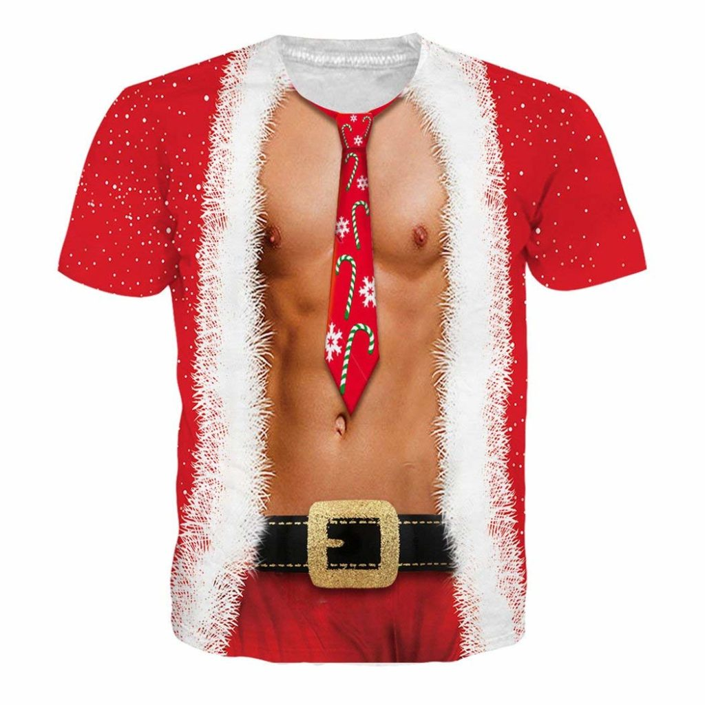 Sexy Man Christmas Body Shirt