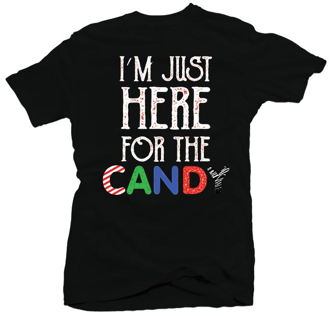 Here For Candy - Halloween Shirt for a Teacher