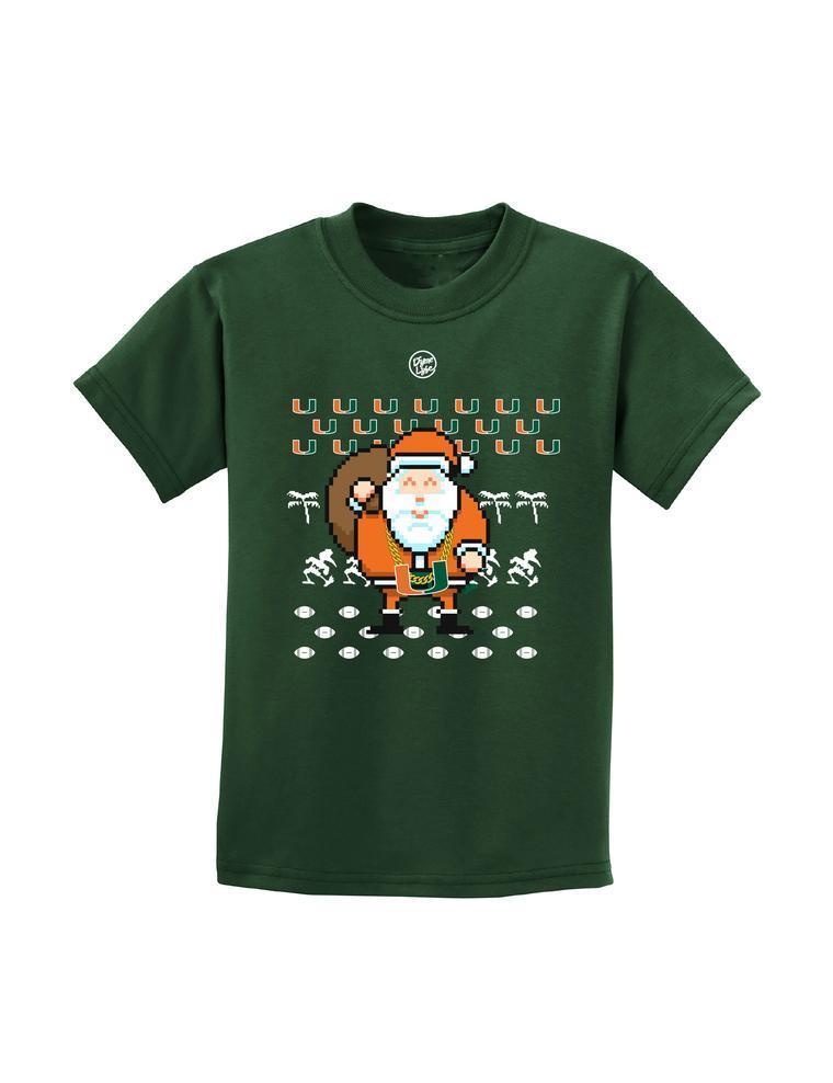 Miami Turnover Chain Ugly Christmas Sweater Tee Shirt