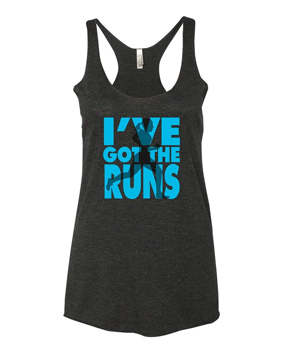 Funny runner tank top for cardio day