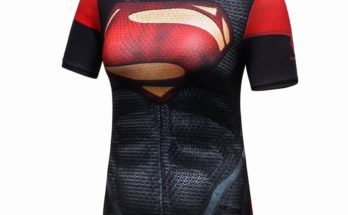 Superman compression shirt for women