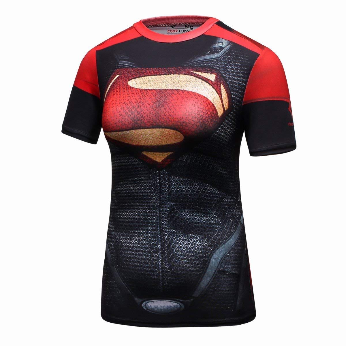 Superman compression shirt for women