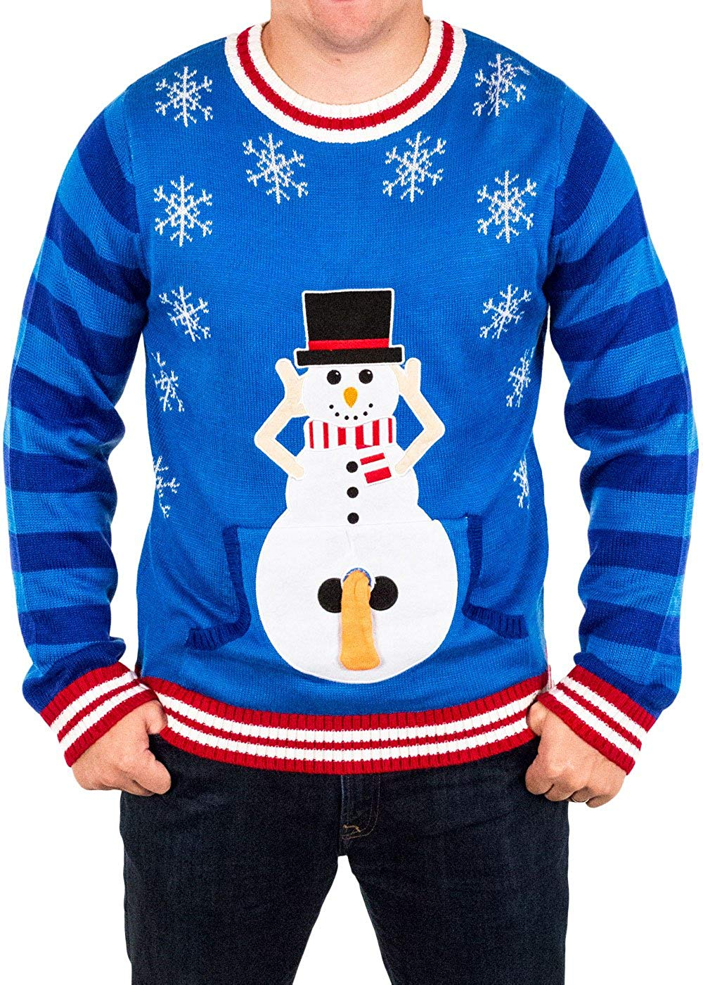 f251a490d This is one of the raunchiest Christmas sweaters I ve ever seen. There is a  front pocket that you can stick your finger ...