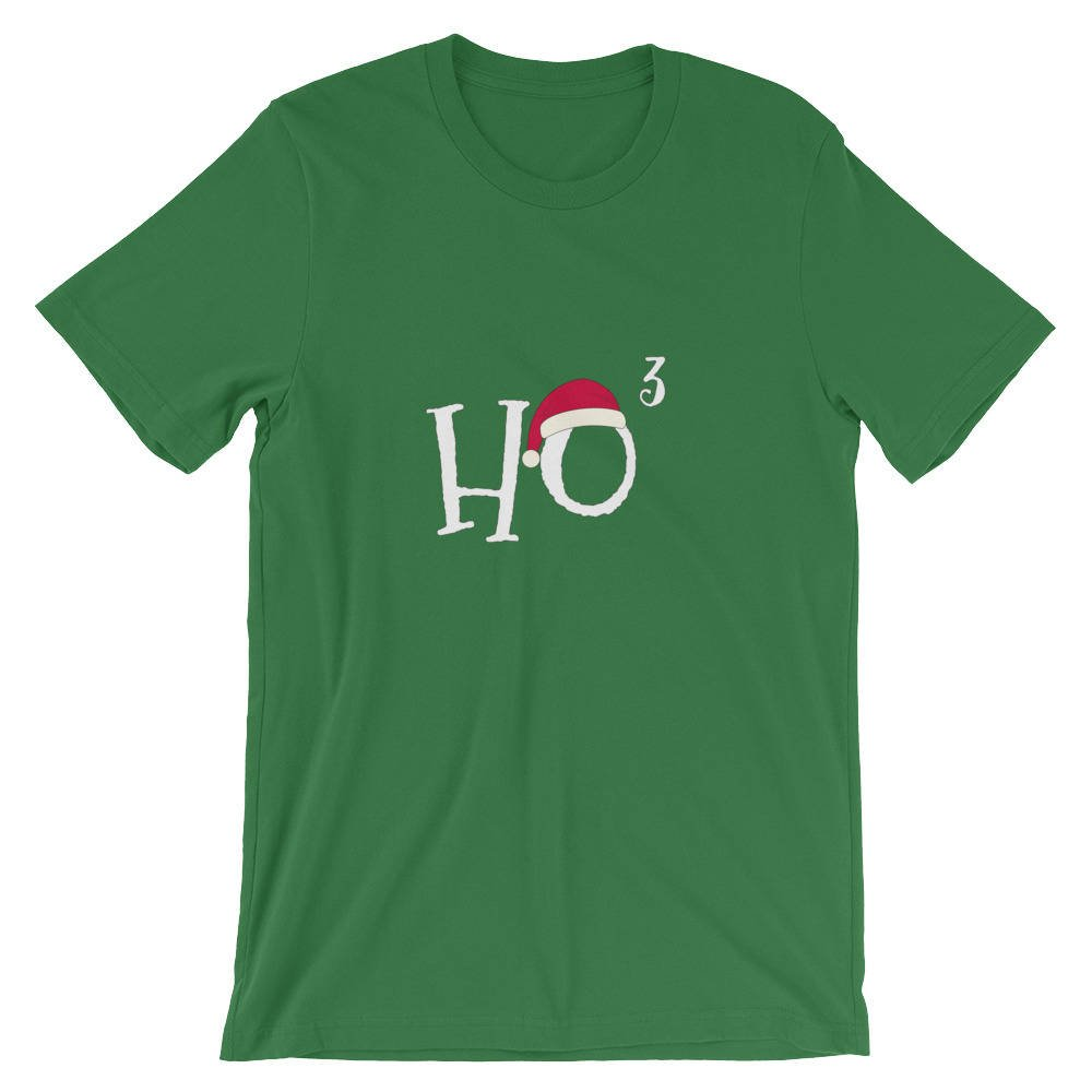 Ho Cubed - Funny Christmas Shirt for Math Nerds and Teachers