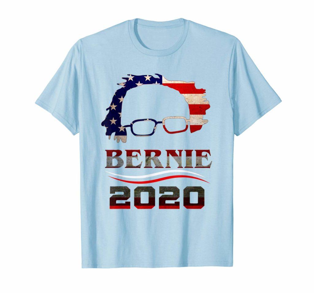 Bernie Sanders American Flag 2020 Campaign Shirt