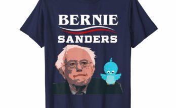 Birdie Bernie Sanders 2020 Campaign Tee Shirt